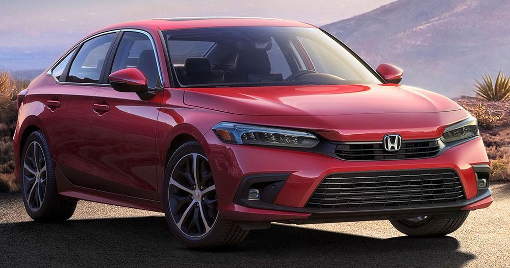 Honda Civic 2022 phiên bản thương mại