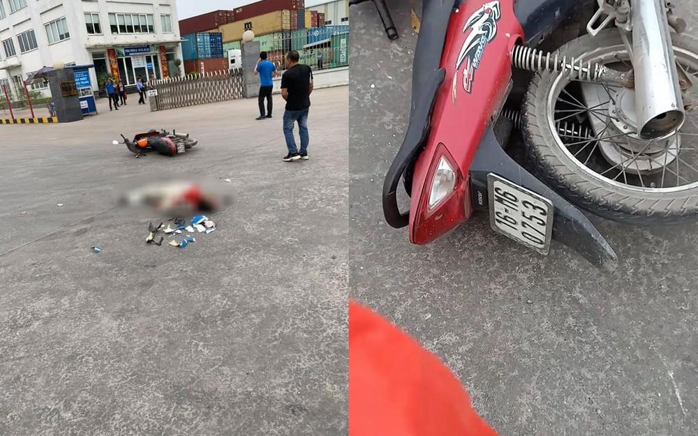 Người đi xe máy tử vong tại chỗ