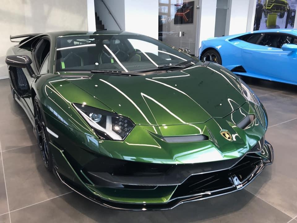 Số lượng xe Lamborghini Aventador SVJ mang màu Verde Ermes trên thế giới không nhiều