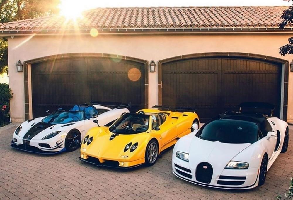 Hoàng Kim Khánh có thể sẽ bổ sung 1 trong 3 thương hiệu Bugatti, Pagani và Koenigsegg vào bộ sưu tập xe của mình