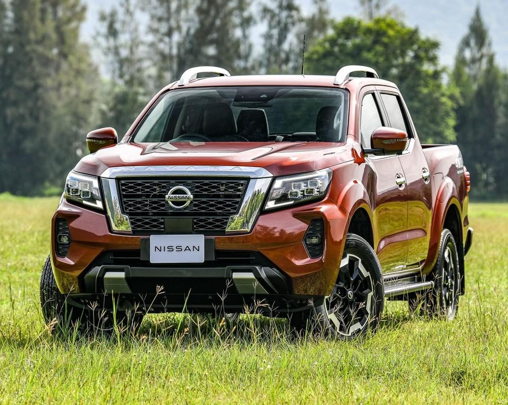 Nissan Navara 2021 đã ra mắt Thái Lan – thị trường vốn xuất khẩu mẫu bán tải này sang Việt Nam.
