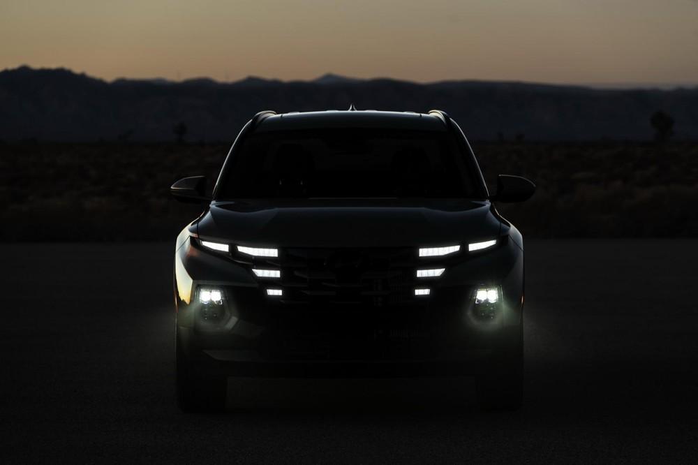 Đèn LED định vị ban ngày của Hyundai Santa Cruz 2022