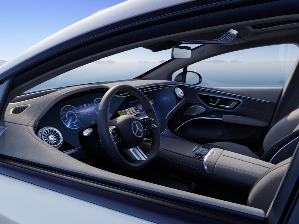 Vô lăng của Mercedes-Benz EQS 2022