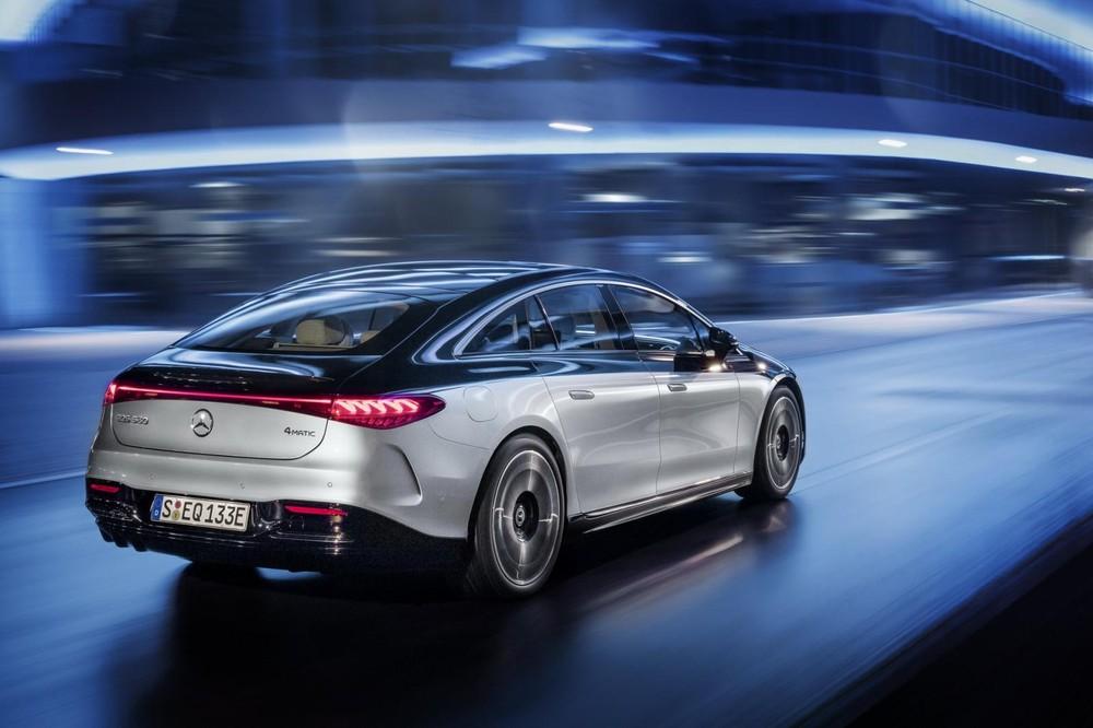 Mercedes-Benz EQS 2022 có hệ số lực cản không khí thấp nhất thế giới