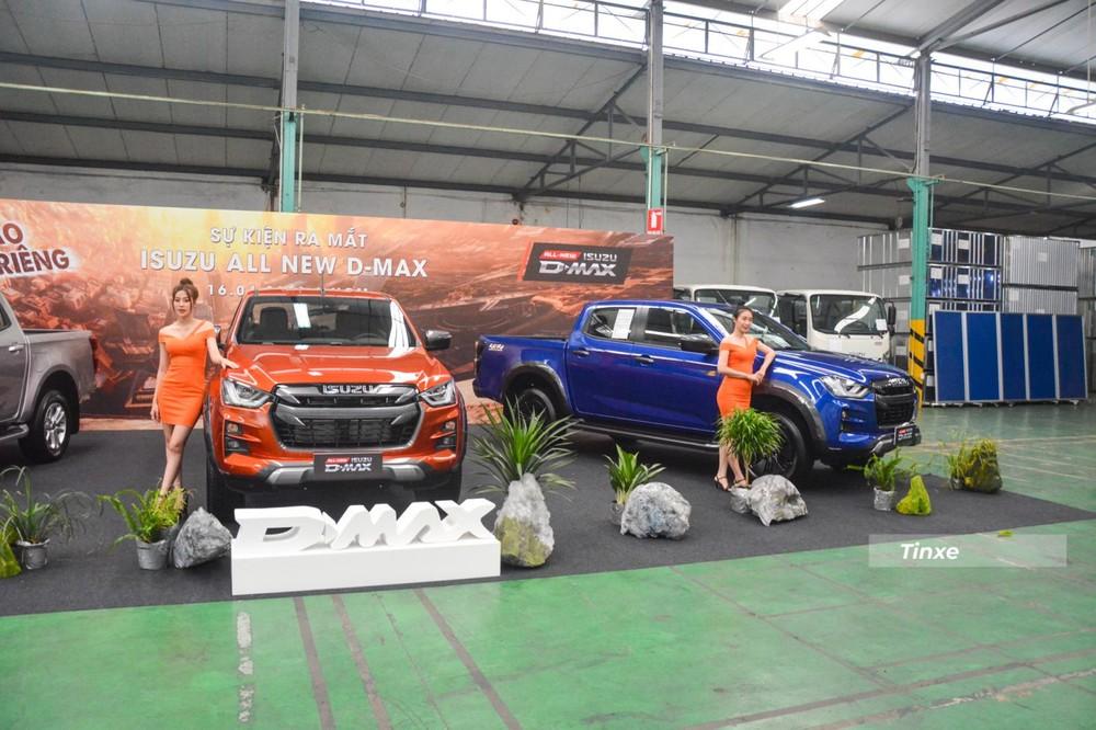 Isuzu D-Max 2021 chính thức ra mắt tại Việt Nam với 3 phiên bản