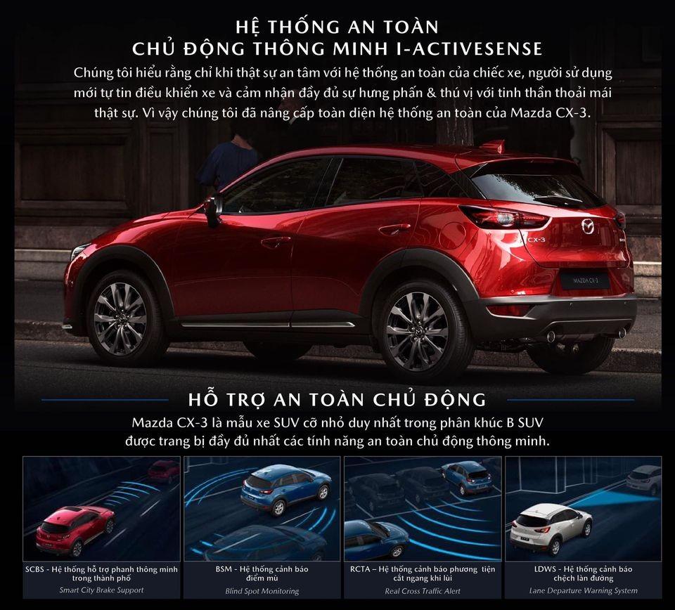 Hình ảnh chụp lại catalogue cho thấy Mazda CX-3 sẽ được trang bị gói công nghệ i-Activsense.