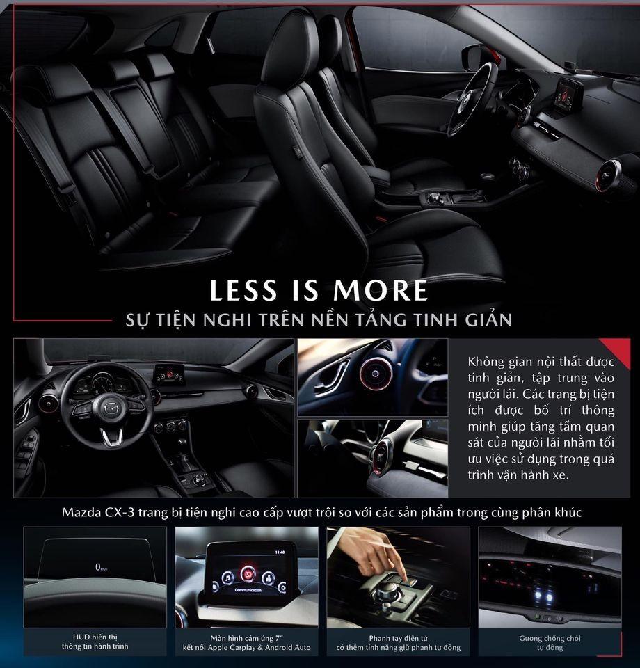 Mazda CX-3 sẽ là mẫu xe duy nhất trong phân khúc có trang bị màn hình hiển thị kính lái HUD.