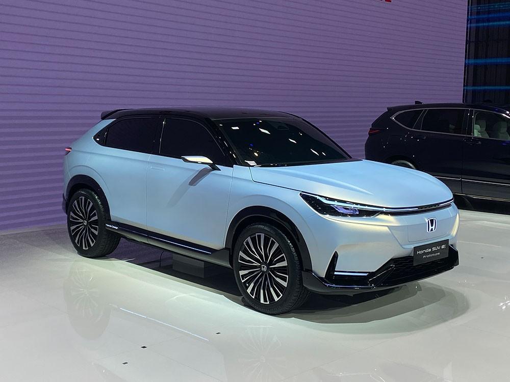 Honda SUV e:prototype phiên bản thương mại sẽ được bán ra vào mùa xuân năm sau