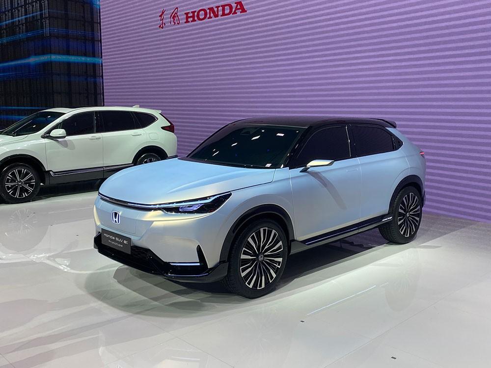 Honda SUV e:prototype ra mắt trong triển lãm Ô tô Thượng Hải 2021