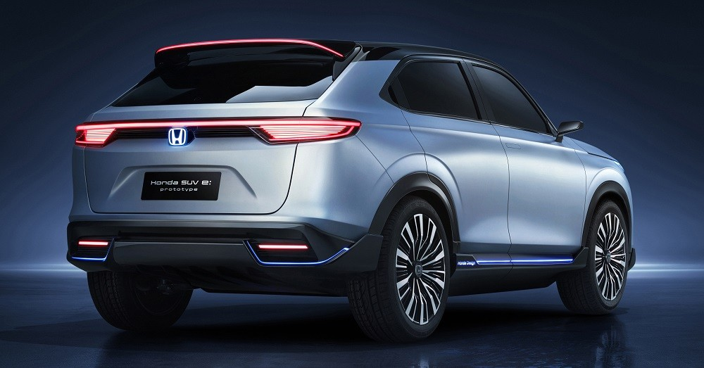 Thiết kế đằng sau của Honda SUV e:prototype