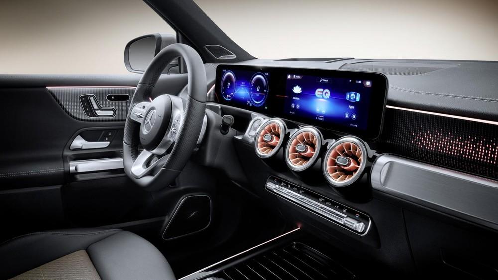 Mặt táp-lô của Mercedes-Benz EQB 2021