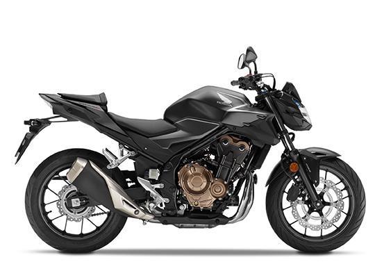 Honda CB500F đen
