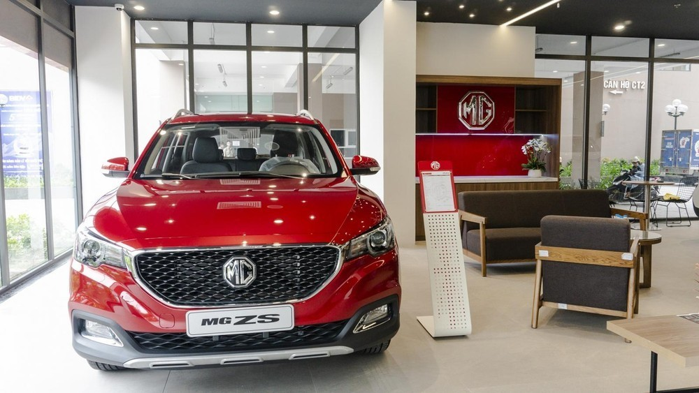 Giá xe MG ZS 2021 mới nhất dao động từ 519 - 619 triệu đồng.