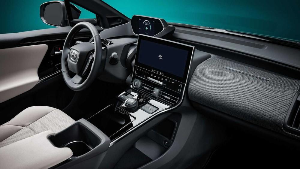Nội thất của Toyota bZ4X