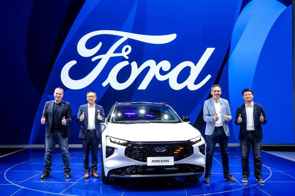 Evos do đội ngũ của Ford Trung Quốc phát triển là chủ yếu