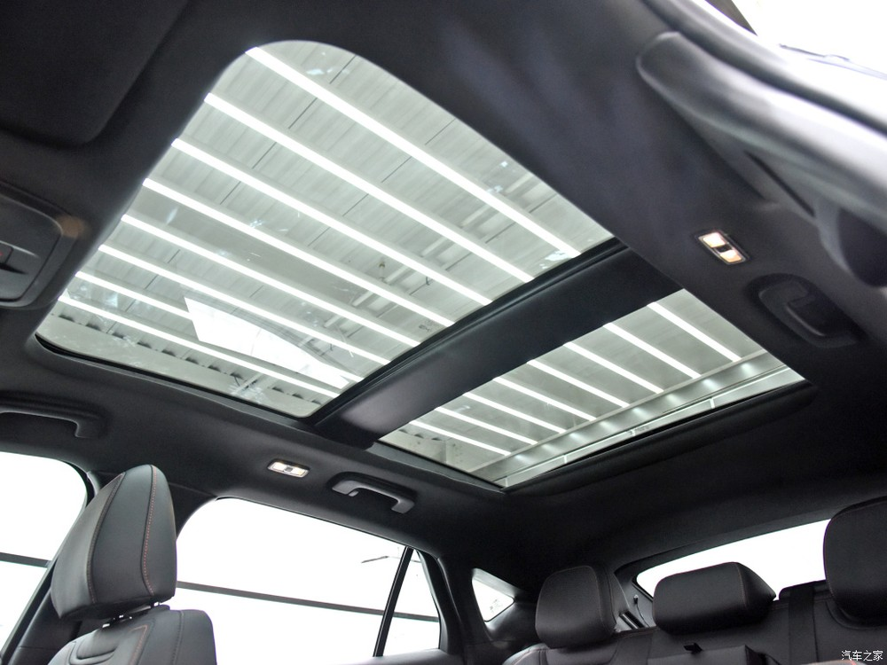 Cửa sổ trời của Ford Evos