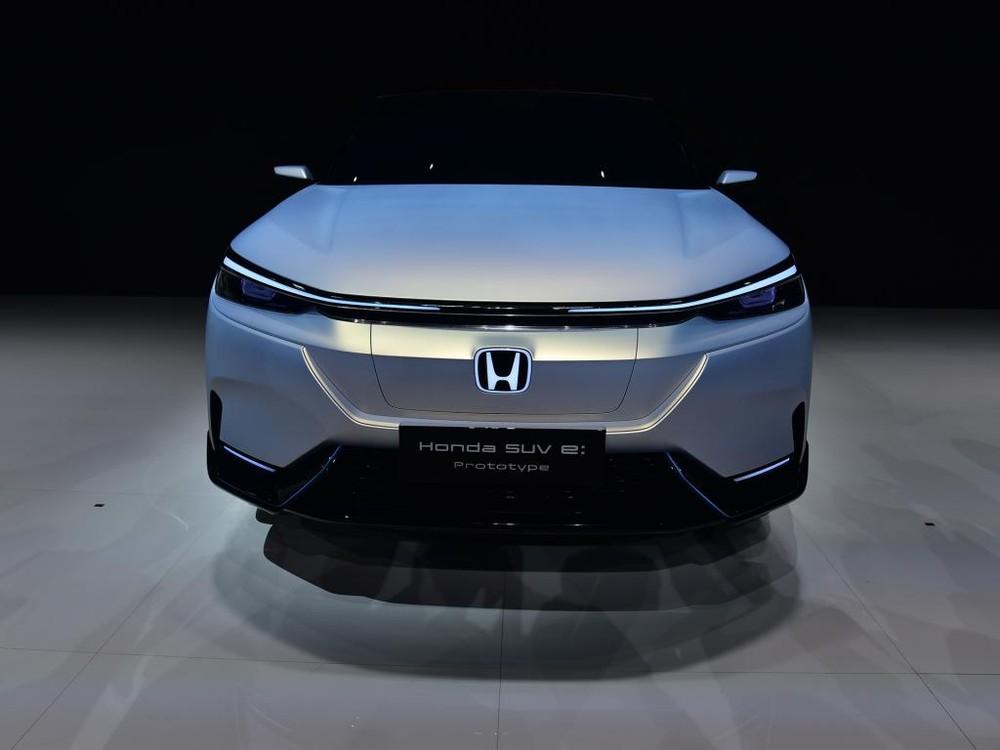 Cận cảnh thiết kế đầu xe của Honda SUV e:prototype
