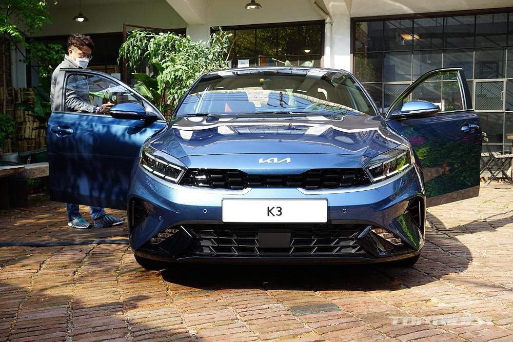 Cận cảnh đầu xe của Kia Cerato 2021