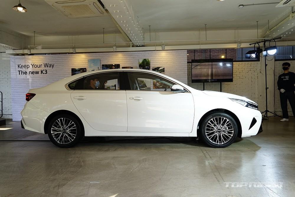 Kia Cerato 2021 dùng vành 16 inch hoặc 17 inch