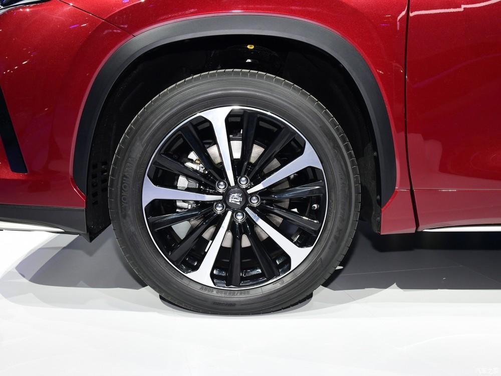 Bộ vành 5 chấu kép của Toyota Crown Kluger