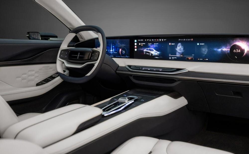 Khoang lái Lincoln Zephyr Reflection Concept