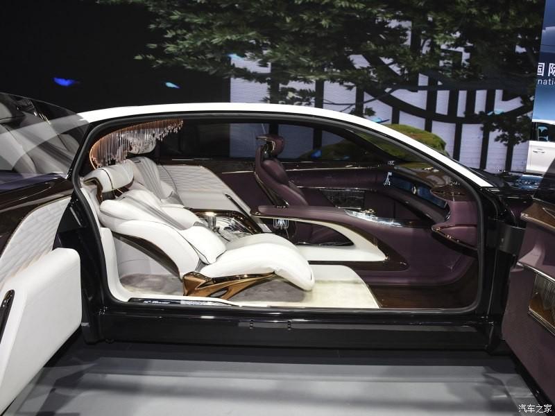 Hồng Kỳ L-Concept dùng cửa mở ngược như xe Rolls-Royce