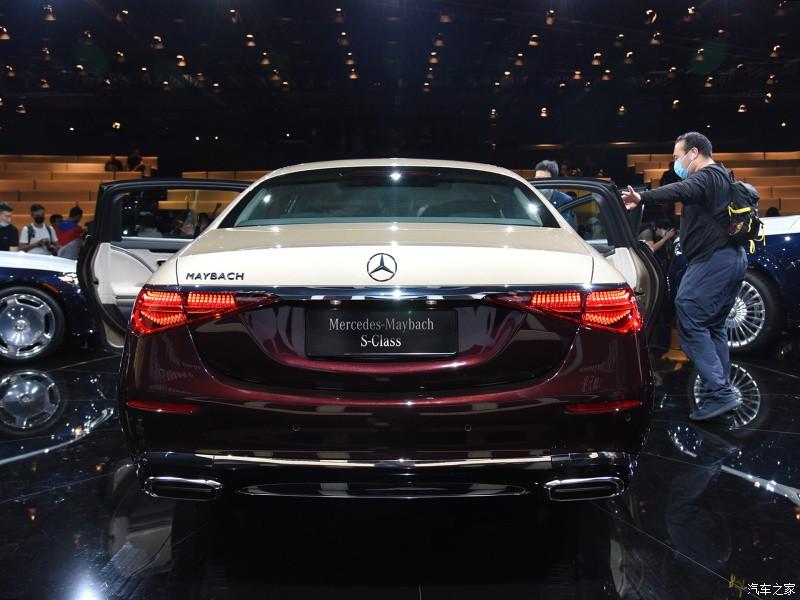 Thiết kế đuôi xe của Mercedes-Maybach S480 2021
