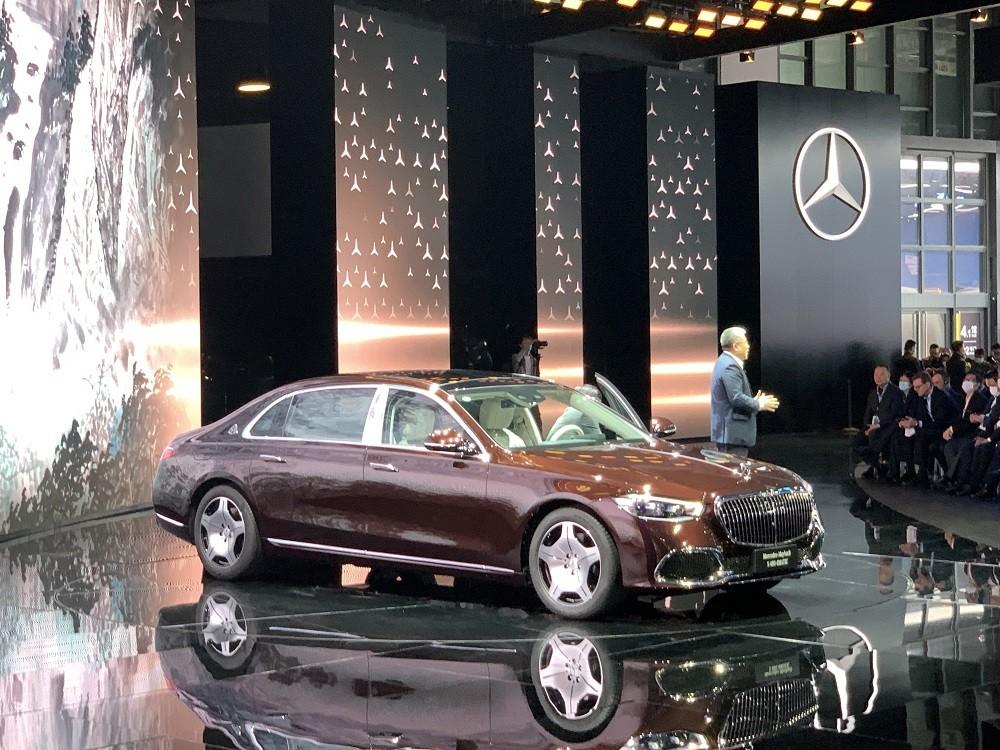 Mercedes-Maybach S480 2021 ra mắt tại Trung Quốc