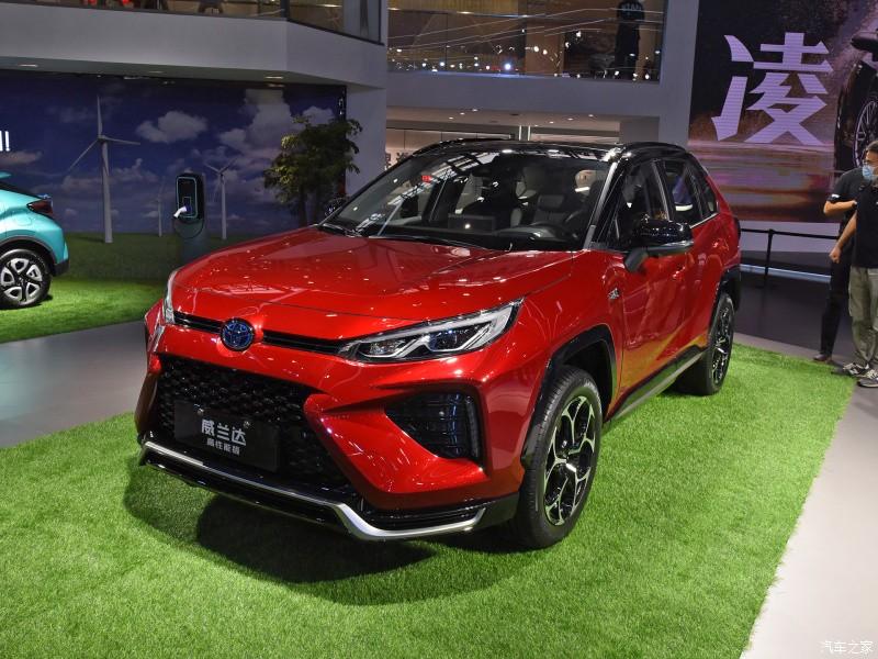 Toyota Wildlander PHEV 2021 là xe plug-in hybrid
