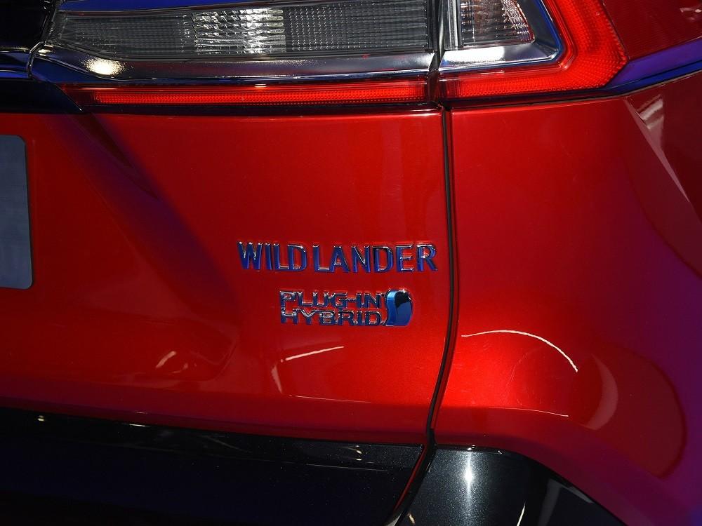 Toyota Wildlander PHEV 2021 chưa có giá bán