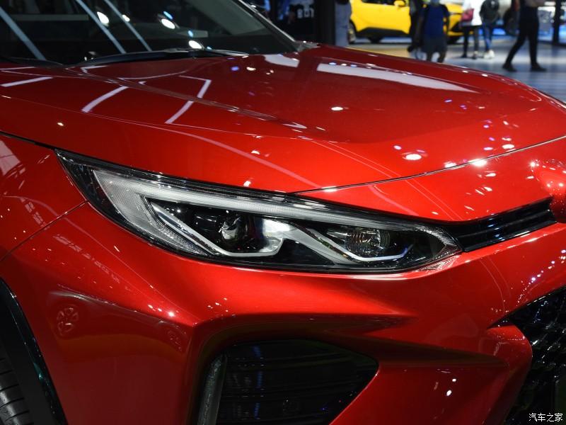 Cụm đèn pha của Toyota Wildlander PHEV 2021