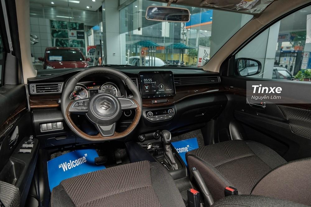 Nội thất của Suzuki Ertiga.