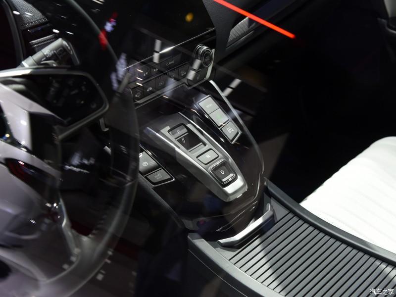 Nút bấm chuyển số của Honda Breeze e:PHEV 2021