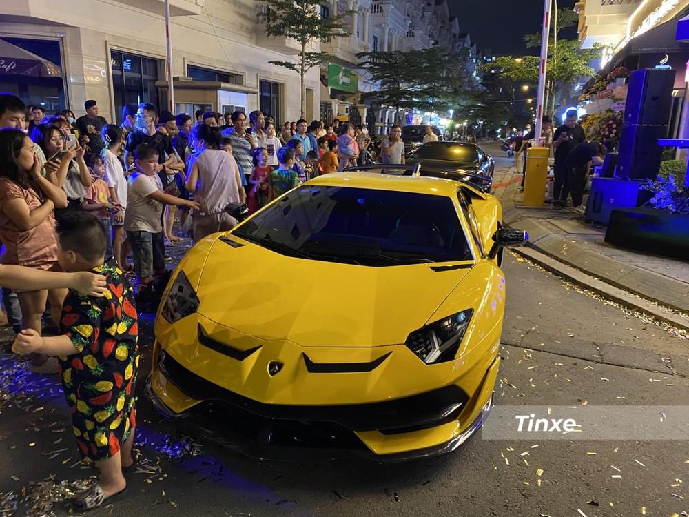 Siêu xe Lamborghini Aventador SVJ xuất hiện tại Gò Vấp