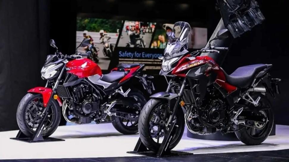 Bộ đôi xe Honda CB400F và Honda CB400X