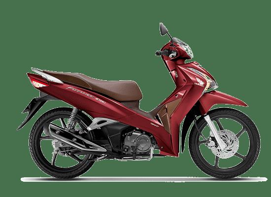 Honda Future phiên bản Vành đúc màu đỏ