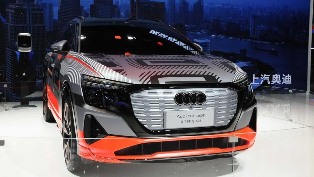 Đầu xe Audi Concept Shanghai