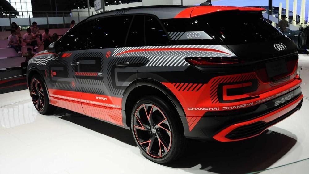 Phía sau của Audi Concept Shanghai