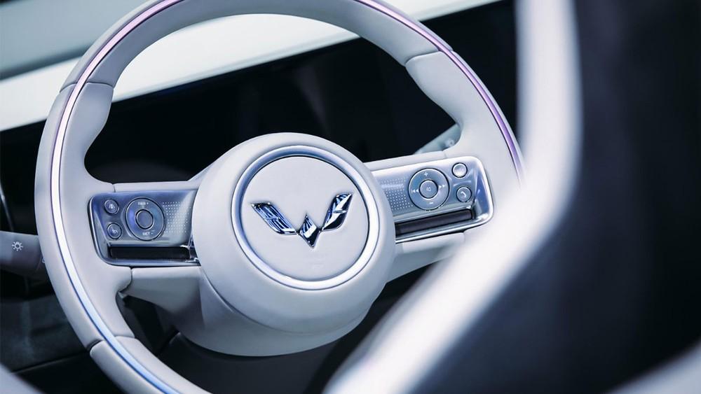 Vô lăng của Wuling Hongguang Mini EV Cabrio