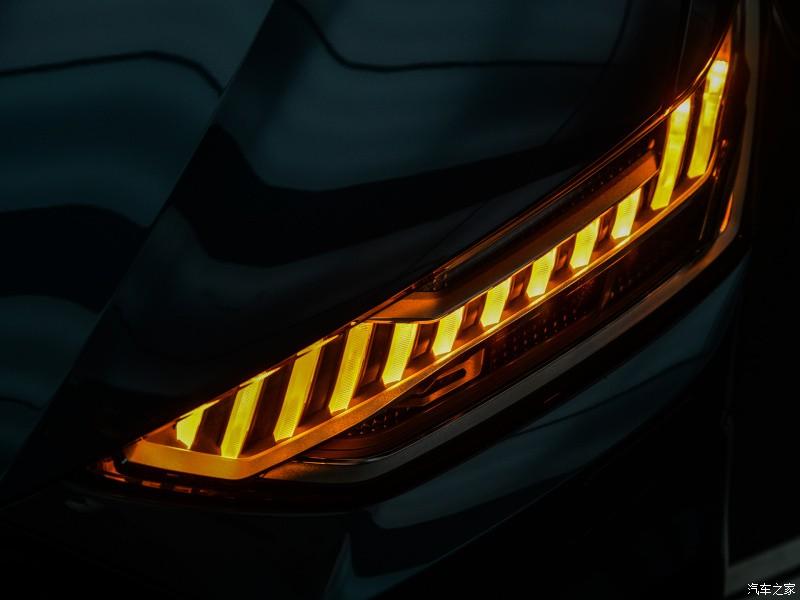 Đèn pha laser của Audi A7L 2021