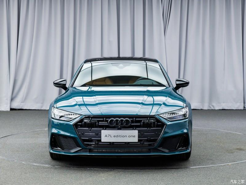 Thiết kế đầu xe của Audi A7L 2021