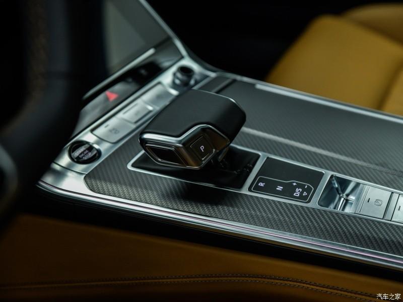 Cần số của Audi A7L 2021
