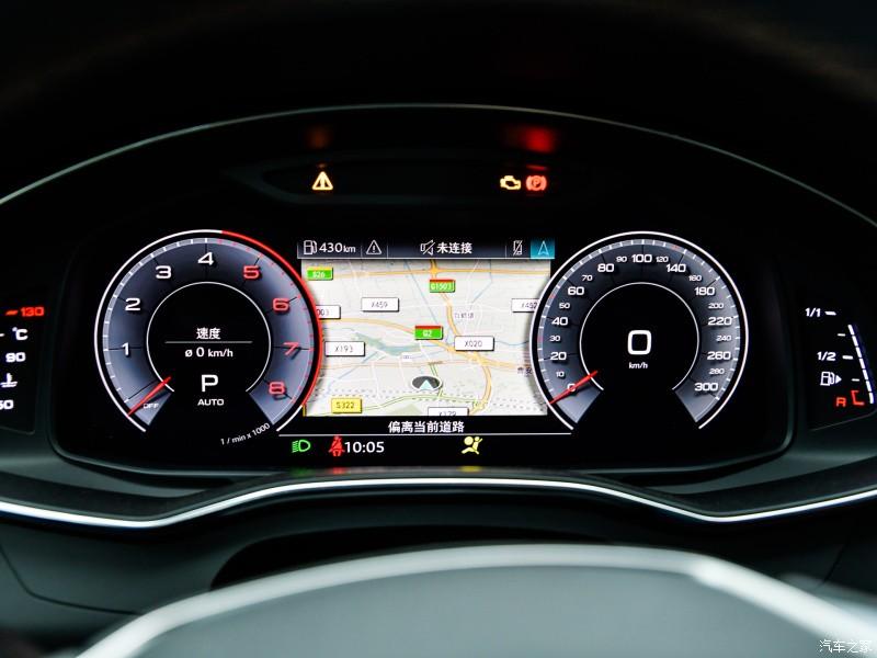 Bảng đồng hồ của Audi A7L 2021