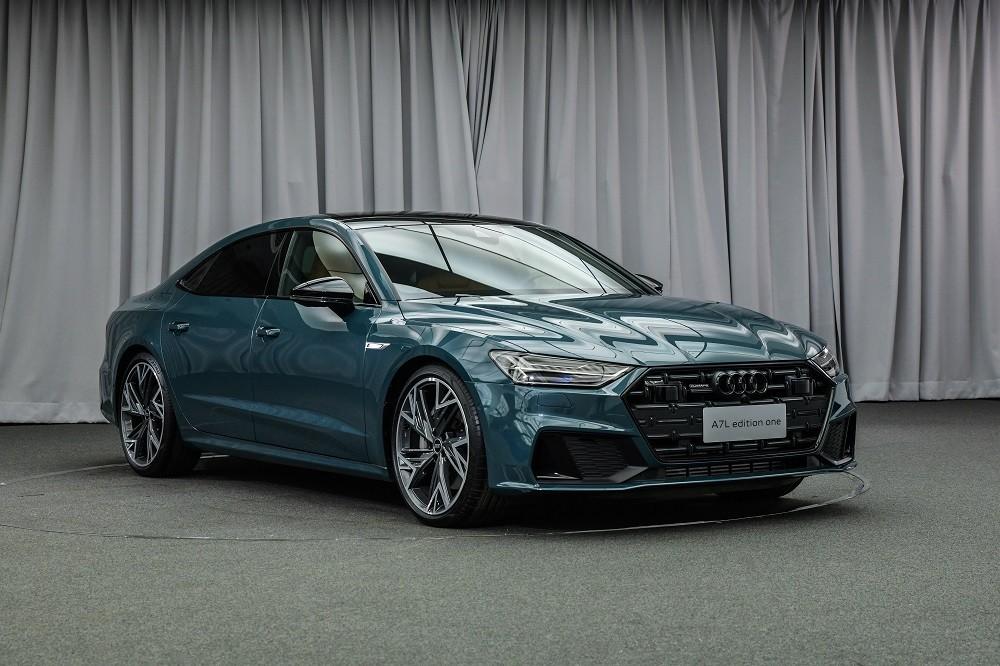 Chiếc Audi A7L 2021 này thuộc bản Edition One