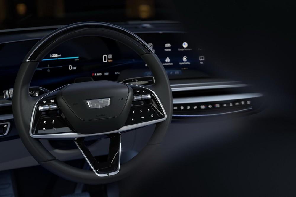 Vô lăng của Cadillac Lyriq 2023