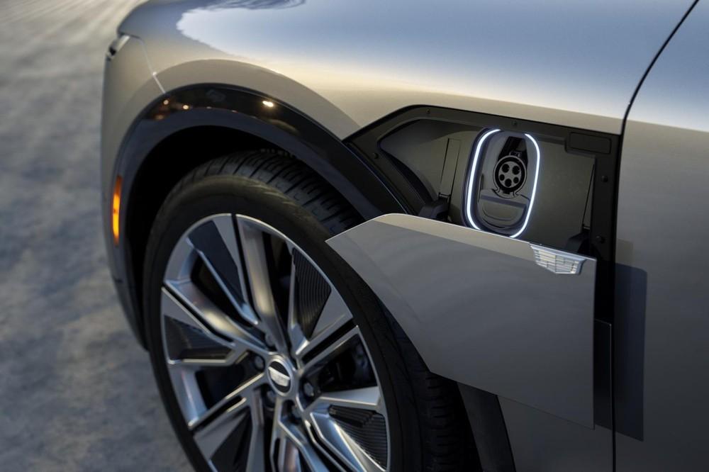 Cổng sạc của Cadillac Lyriq 2023