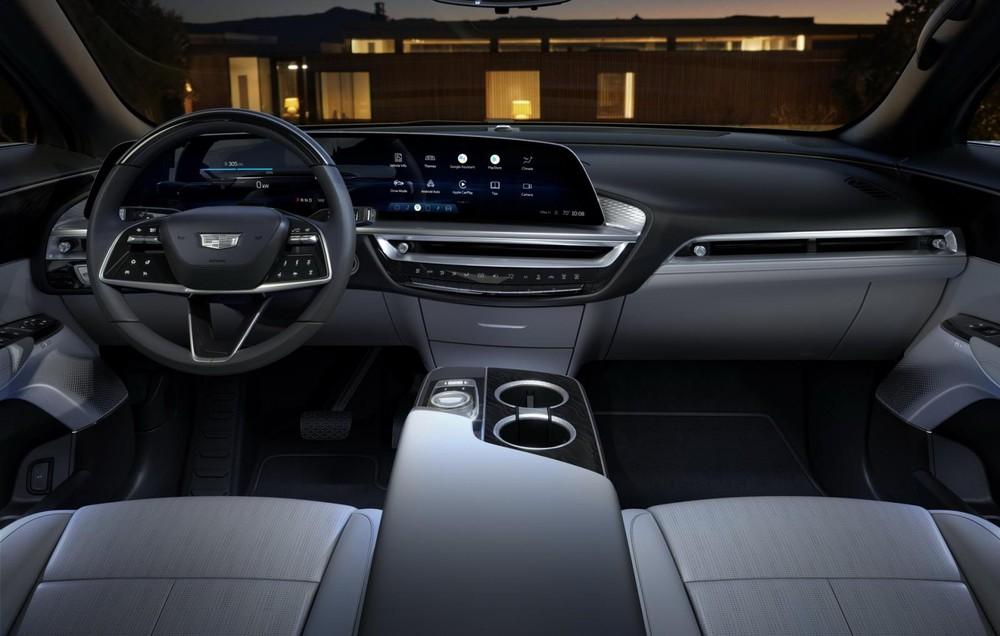 Nội thất bên trong Cadillac Lyriq 2023