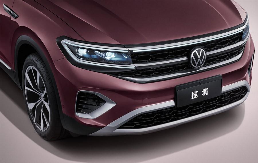 Đèn pha của Volkswagen Talagon