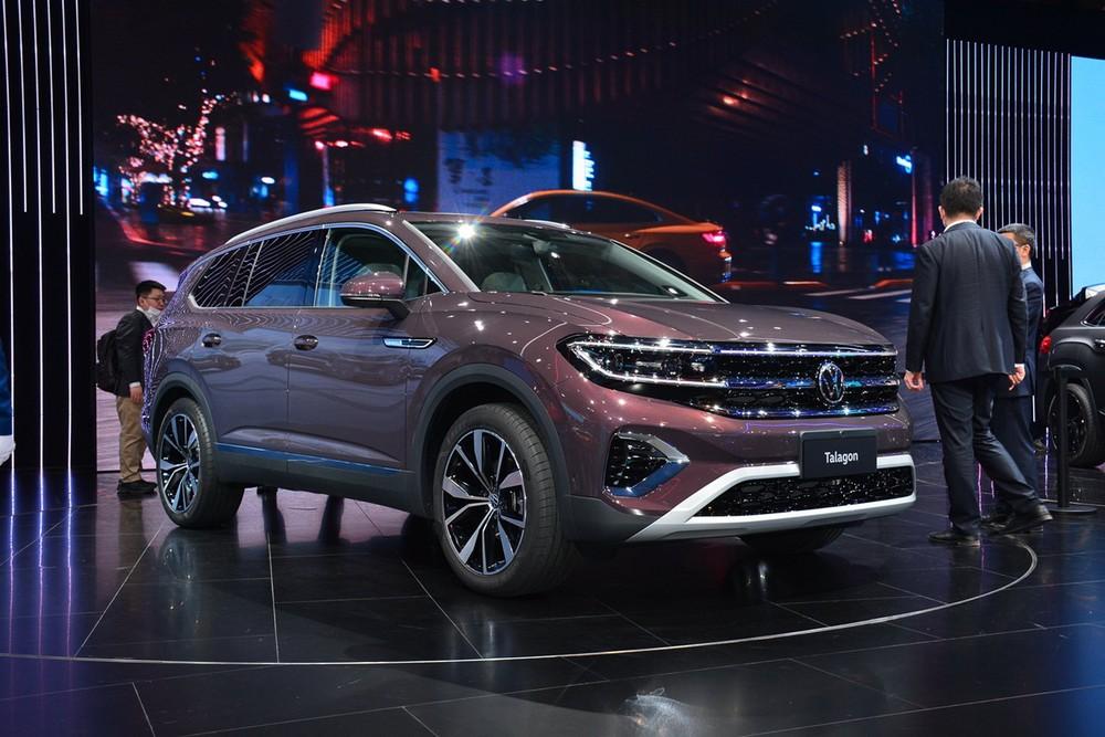 Volkswagen Talagon ra mắt trong triển lãm Ô tô Thượng Hải 2021