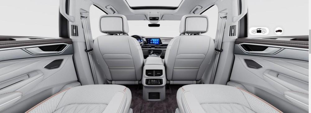 Volkswagen Talagon có 3 tùy chọn động cơ